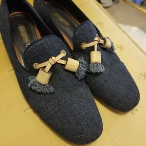 Louis Vuitton Denim Loafers